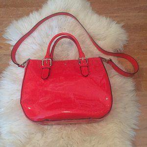 Carlisle Street Sylvie Handbag in Patent Leather